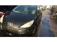 2005 Peugeot 307 S Black 5dr Hatchback 1.6L Petrol BREAKING FOR SPARES