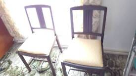 Two Dining Room Chairs Brilliant For Renovation