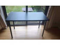 Ikea Black Table 120x60 cm