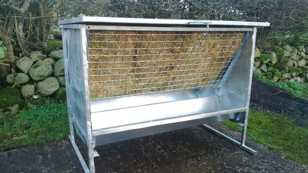 Stockmaster 4ft Hayrack c/w feeding trough - NEW