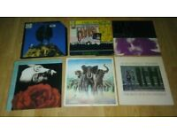 16 x elvis costello vinyl LP's / 12 inch - orig armed forces / 7 inchsingles