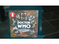 Dr Who DVD Board Game, brand new and sealed