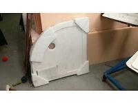 Elements Shower tray ceramic 800x800 quadrangle (still available)