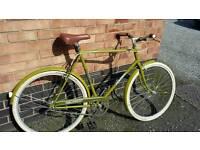 Triumph single speed town bike