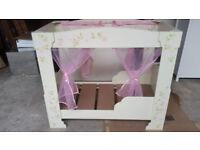 Rose 4 Poster Toddler Bed Frame