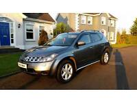 Part ex / swap - Nissan Murano 3.5 V6 Automatic 4x4 - 78k - finance available