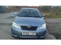 DIESEL TOYOTAL COROLLA 2004 MANUAL FULL YEAR MOT EXCELENT CONDITION