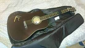 Acoustic Guitar and Bag