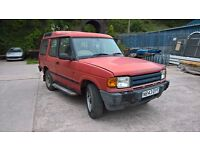 1996 Landrover Discovery 3dr 300tdi manual - non sunroof 138k miles, good project!
