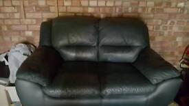 2 Leatherette Sofas