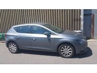 SEAT LEON 2013 ..1.6 TDI WITH 2,5 YEAR WARRANTY ..8000£...