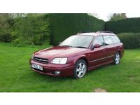 Subaru legacy 4wd 2.5 GX petrol estate. MOT 14/12/18. Drives superbly. No issues