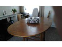 Teak dining room table
