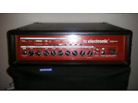 TC Electronics Bass Rig BH500 and BC212 x 2. Gigged but Good condition. Collection preferred