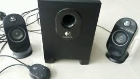 Logitech X-210 Speakers (25W output)
