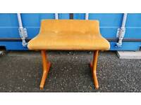 Funky retro 60s 70s vintage G-Plan style stool footstool chair