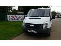 FORD TRANSIT VAN SWB. NO VAT. FREE WARRANTY AND FINANCE AVAILABLE