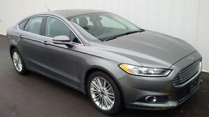 2014 Ford Fusion SE AWD Leather Navigation Sunroof - One Owner