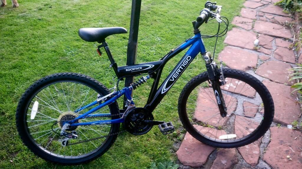 "Vertigo Rockface 24"" boys' bike"