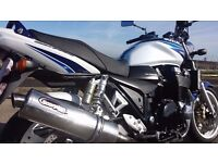 03 GSX 1400 GSX1400 K3 BLUE & WHITE ....not xjr or cb1300
