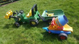 john deere tractor and accessories