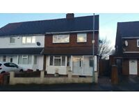 *Spacious 3 Bedroom House To Let Close To Walsall Town Centre