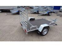 Quad bike trailer and loading ramp single axle 750kg