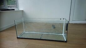 120 litre Jewel Fish Tank and Lid, Fluval U3 filter and some accessories