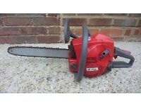 Efco well made petrol chainsaw nota Chinese cheap made machine