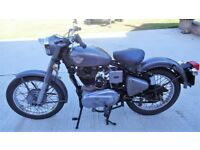 Royal Enfield Bullet - Grey / Silver - 500cc - Year 2000