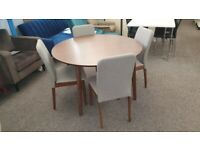 Farringdon Table & 4 Chairs Can Deliver