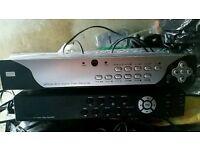 2 X digital video recorder 500 GB HDD CCTV NO TV