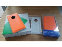 Nokia Lumia 830 with extra wireless charging covers and wireless charger. Opened to all networks.