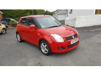 2010 SUZUKI SWIFT 1.3 SZ3. ONLY 16000 MILES AND TOTALLY MINT..LIKE NEW !!