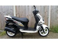 Sym jet 4 125 , 2015 125cc scooter (made on honda licence)