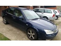 Ford mondeo Ghia X for spares and repairs
