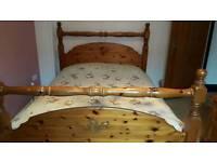Kingsize Solid Pine Bed