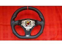 Brand New Flat Bottom Audi Steering Wheel A4 S4 B6 A6 C5 A8 TT