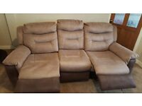 Brand New 3 Seater Manual Recliner