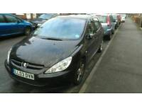 Peugeot 307 2.0 tdi with towbar