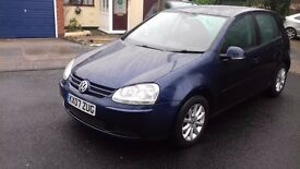 Golf Mark 5 TDi Metallic Blue