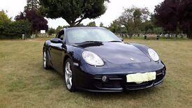 Porsche Cayman, sat nav, full mot, service history