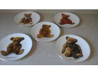 Royal Worcester Teddy bear collecters plates