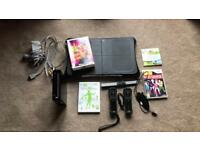 NINTENDO WII LIMITED EDITION BLACK WII FIT