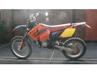 ROAD REGISTERED 2006 KTM 200 EXC
