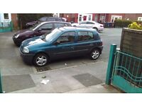Renalut clio £200 or swap for another car