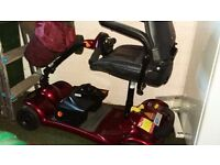 Ultralite 480 mobility scooter, excellent condition.