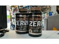 Whey Protein Isolate with caffeine