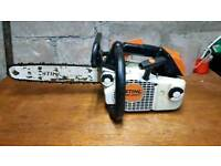 Stihl ms200 chainsaw top handle