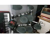 Yamaha DTX electronic drums drum kit